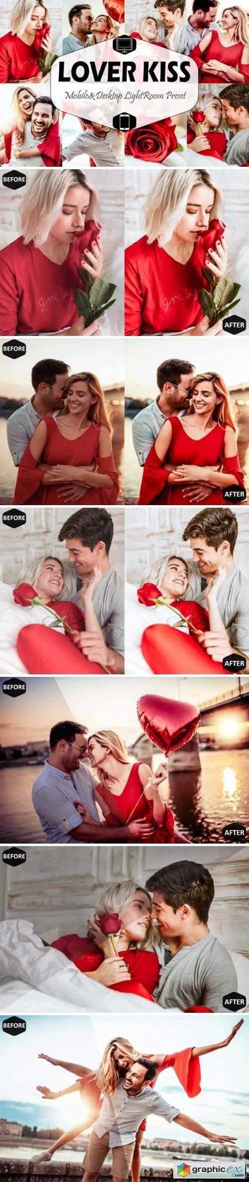 Lover Kiss Valentine Lightroom Preset