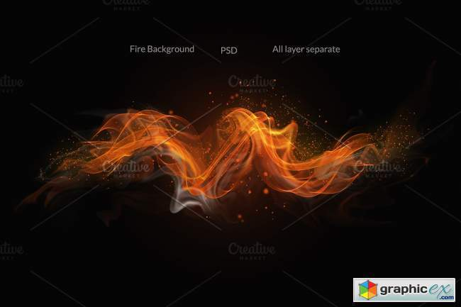 Fire & Smoke Bundle PSD