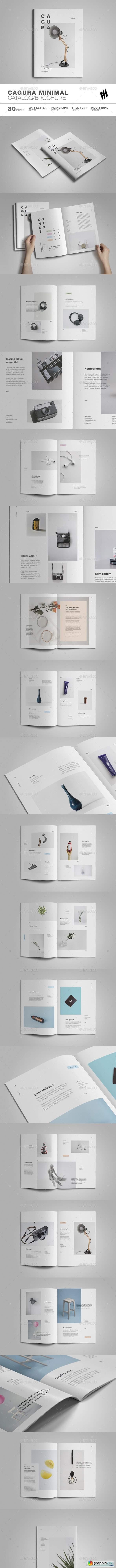 Cagura Minimal Catalog Brochure