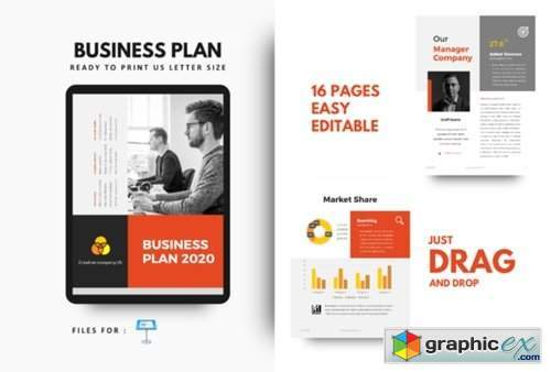 Business Plan 2020 Keynote Template