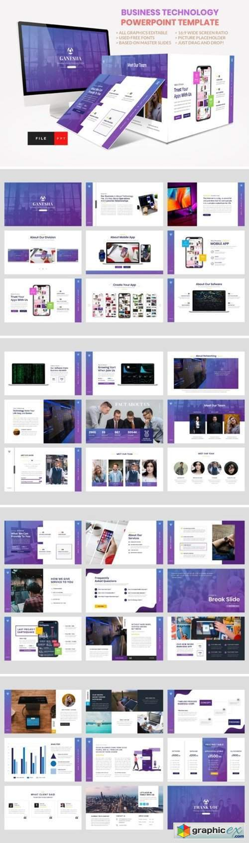 Business - Technology PowerPoint