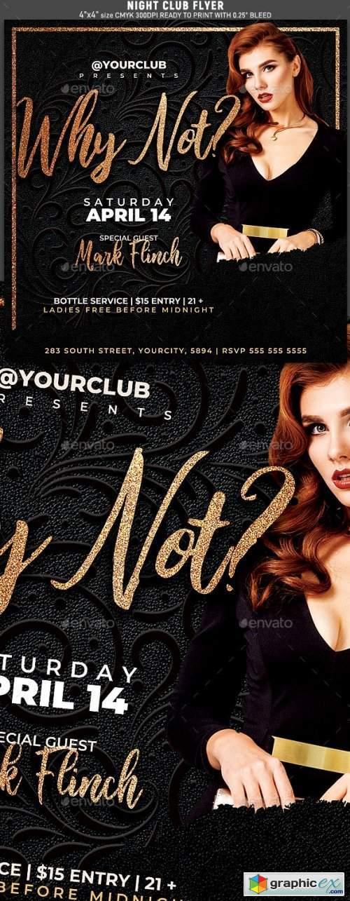 Night Club Flyer Template 25671150