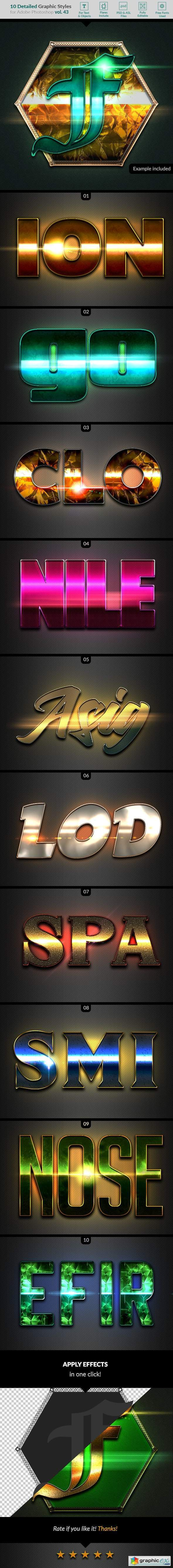10 Text Effects Vol. 43