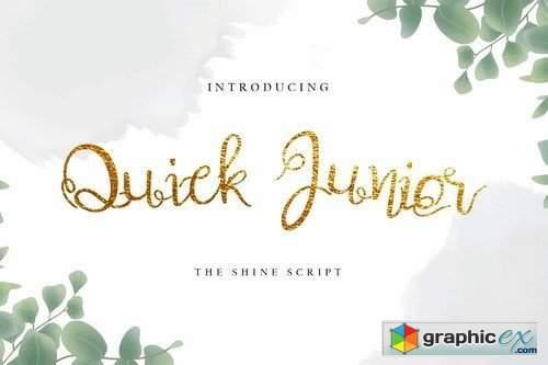 Quick Junior Font