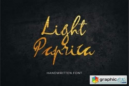 Light Paprica Font