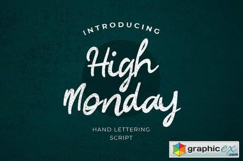 High Monday Font