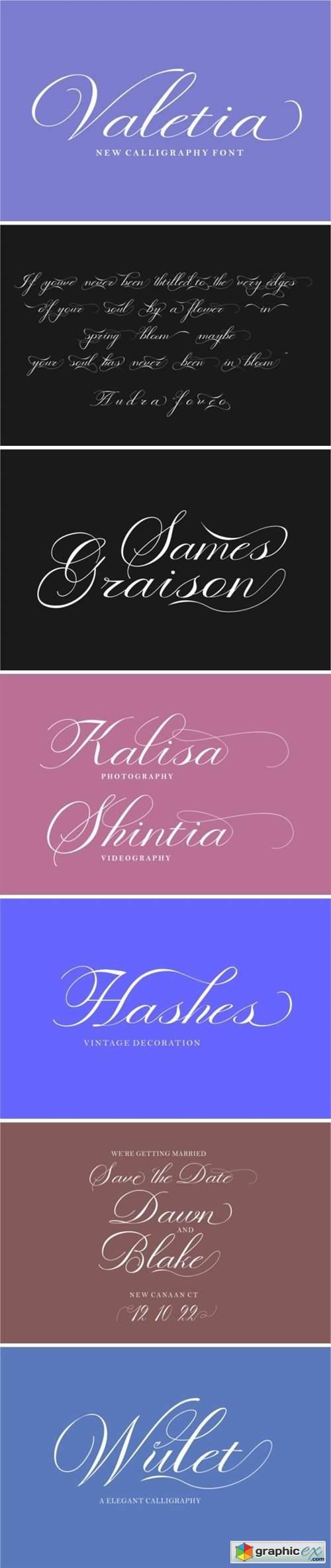 Valetia Font