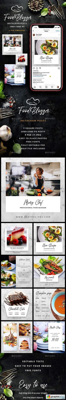 Food Blogger - Instagram Posts