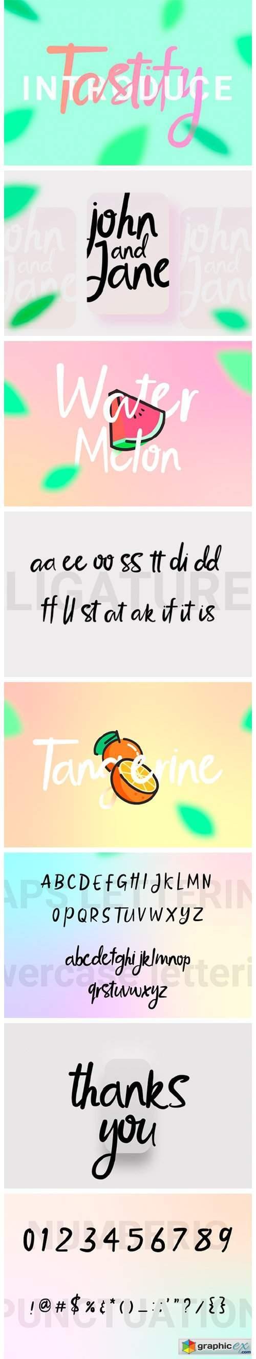 Tastify Font
