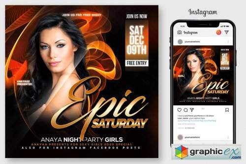 Epic Sound Flyer Template 4547020