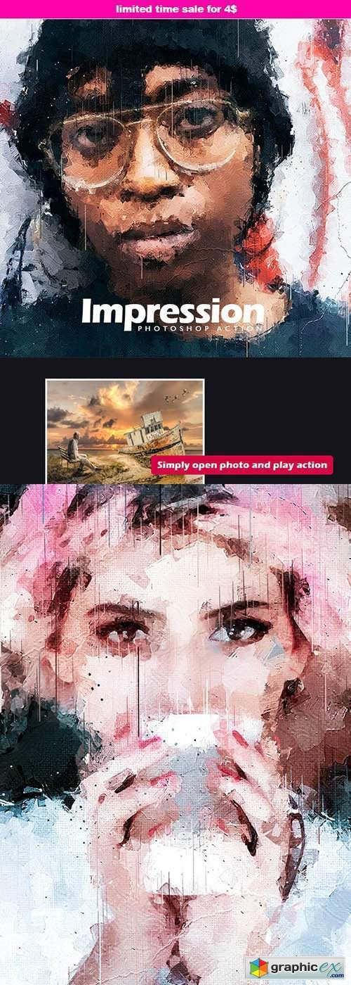 Impression - Photoshop Action