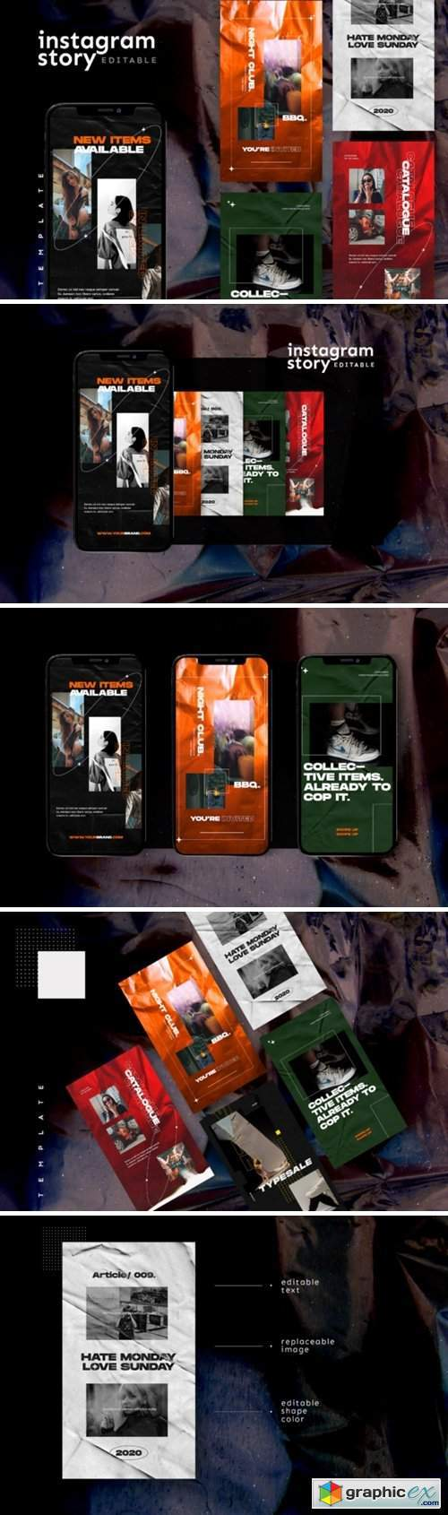 Instagram Story Template 2847312