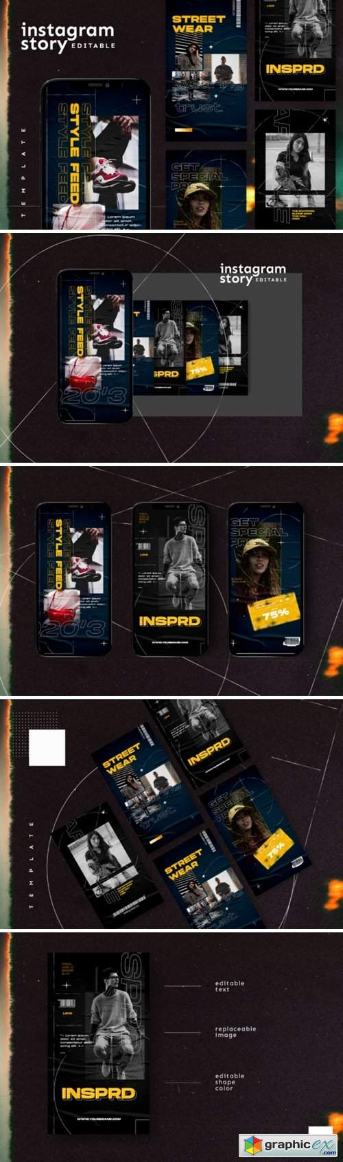 Instagram Story Template 2847303