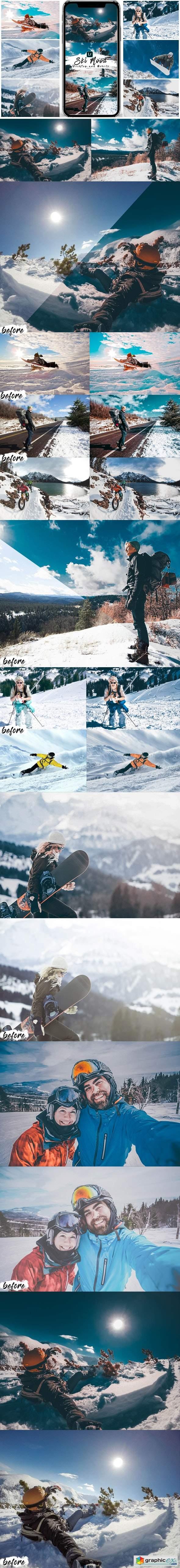 Ski Mood Presets For Mobile and Desktop Lightroom