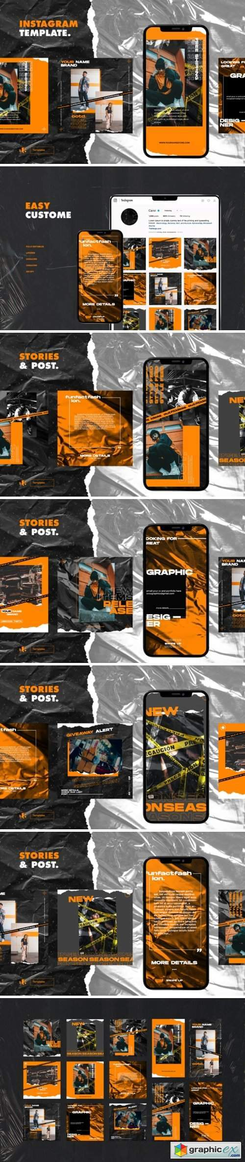 Instagram Template 2893216