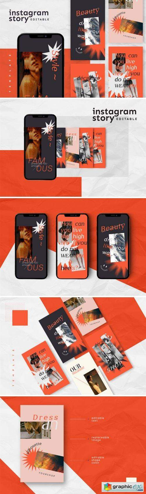 Instagram Story Template 2893177