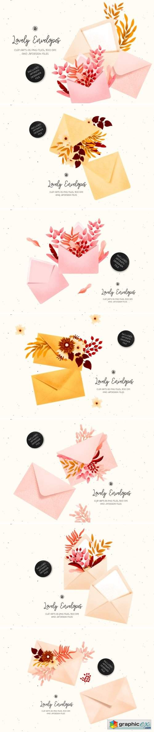 Lovely Envelopes