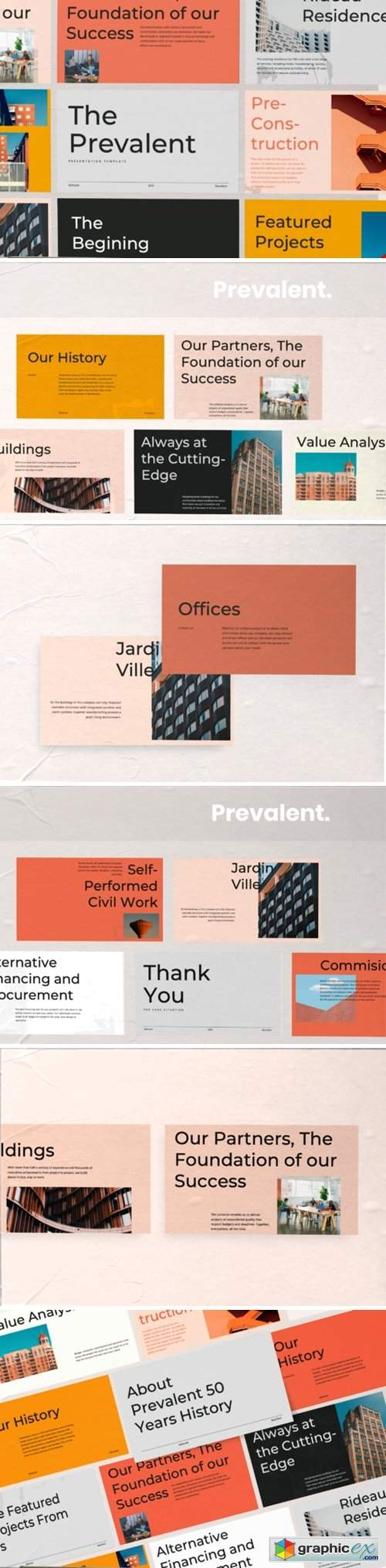 Prevalent Powerpoint Template