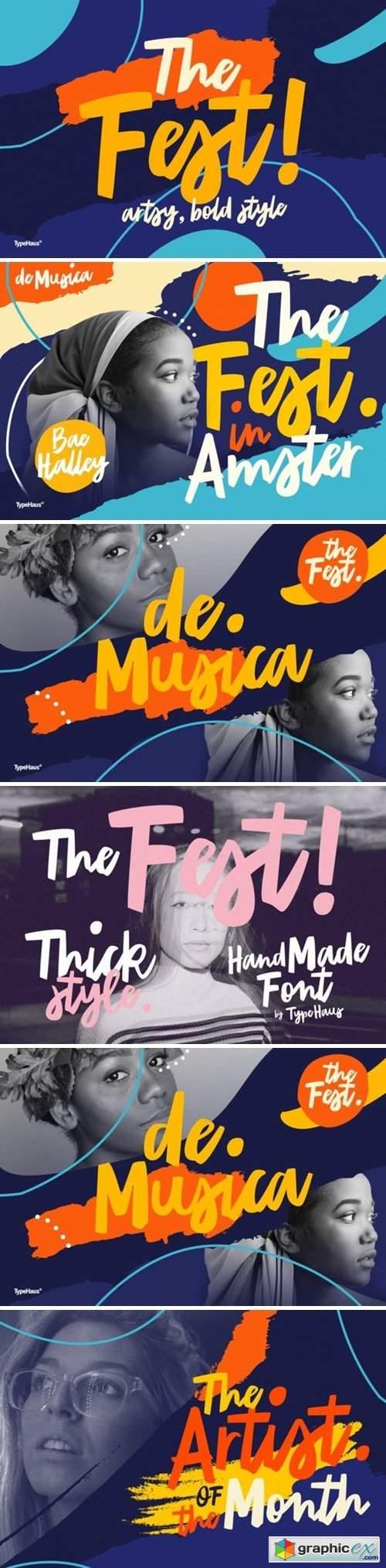 The Fest Font