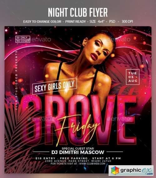 Night Club Flyer 25671972