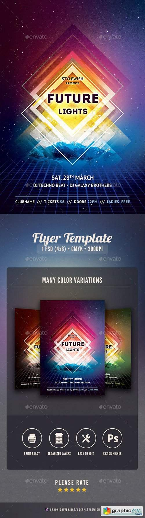 Future Lights Flyer 25742098