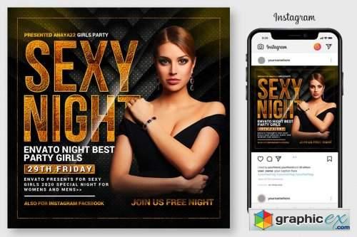 Sexy Nights Flyer 4564922