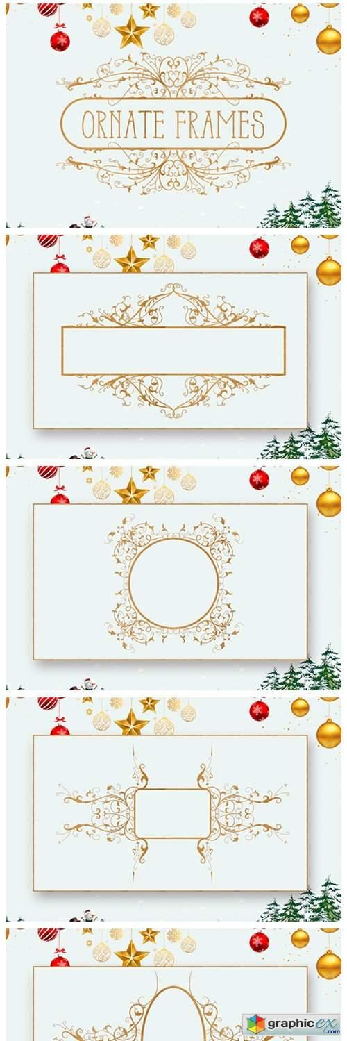 Ornate Floral Frames