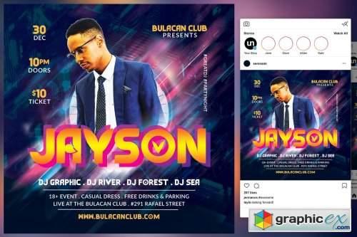 DJ Club Flyer 4542014