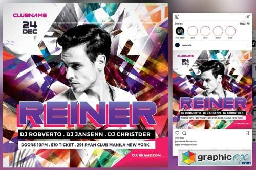 DJ Flyer 4542019