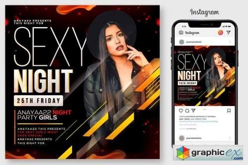 Sexy Night Flyer 4564927