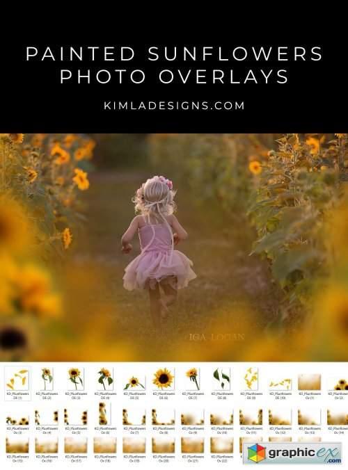 Kimla Designs - Sunflower Overlays