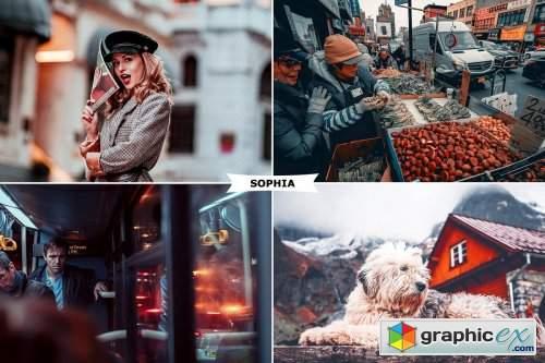 Sophia Photoshop Action
