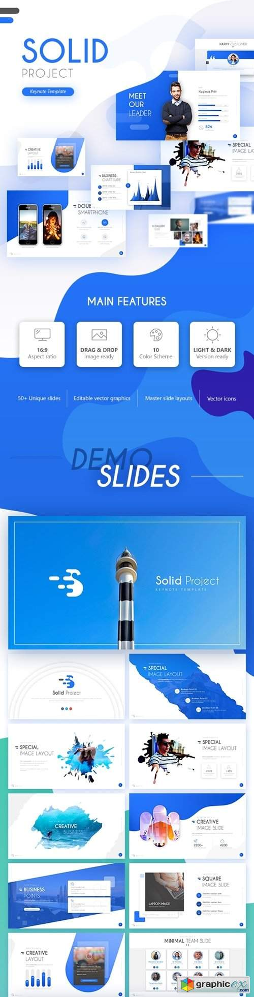 Solid Project Multipurpose Keynote Template