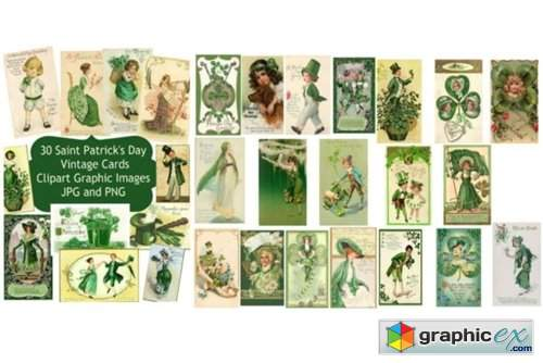 30 Saint Patrick's Day Card Images