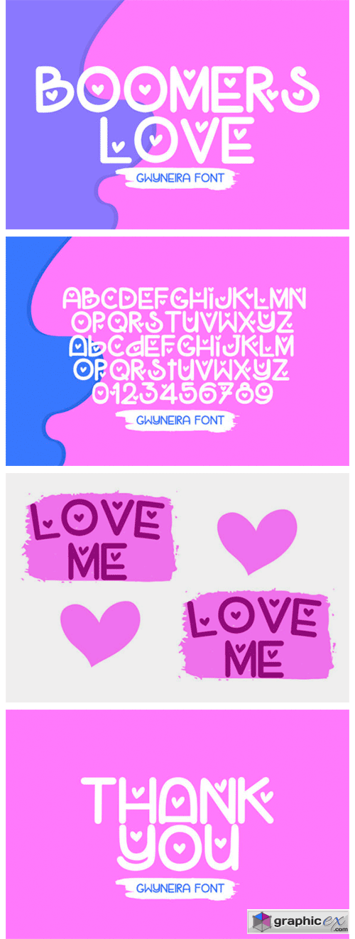 Boomers Love Font