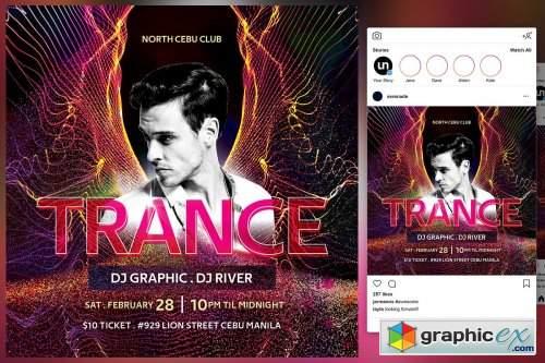 Trance Flyer 4579815