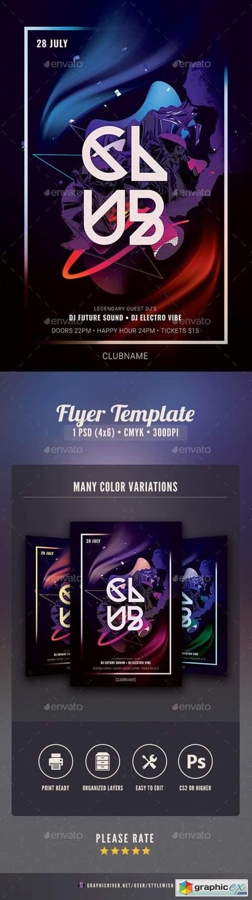 Club Flyer 25812726