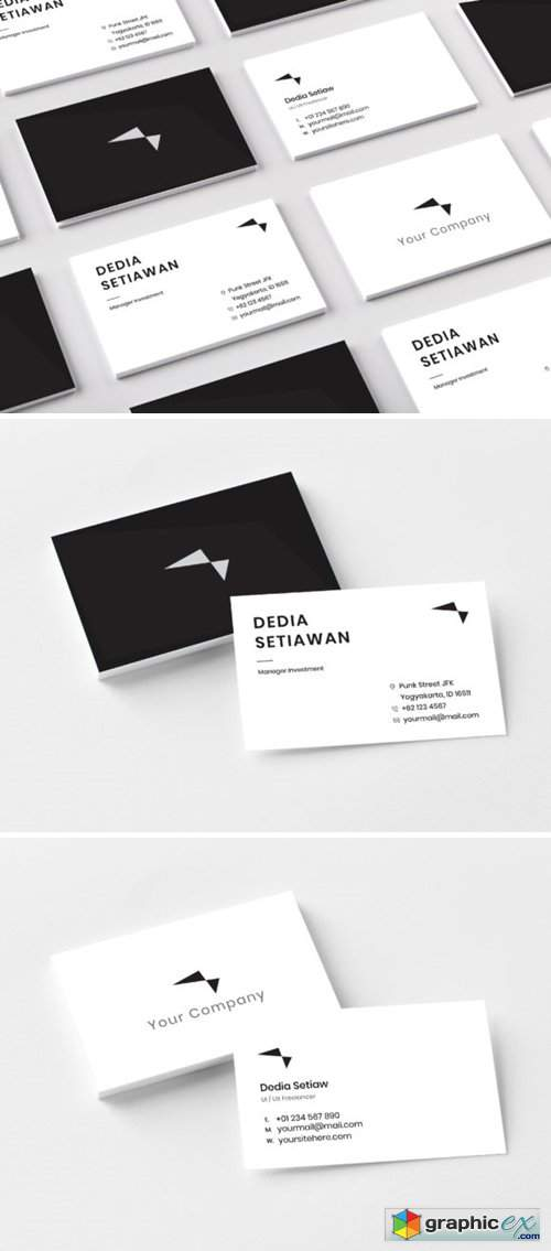 Business Card for Startup