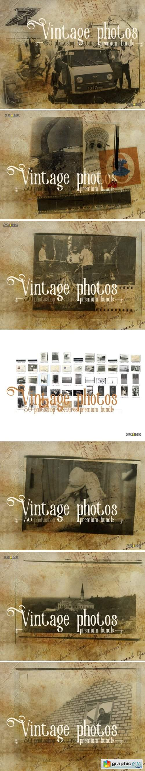 Premium Bundle Vintage Photoshop Texture