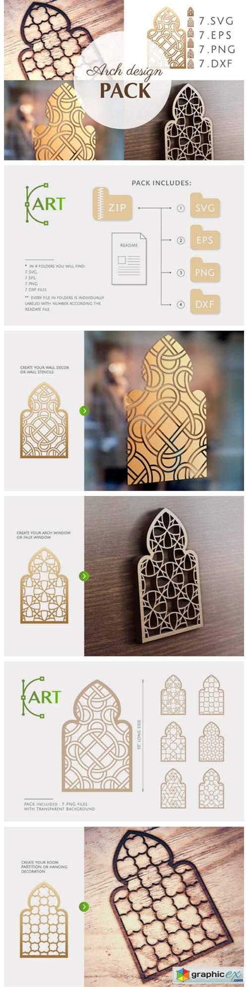 Arch Window Islam Art