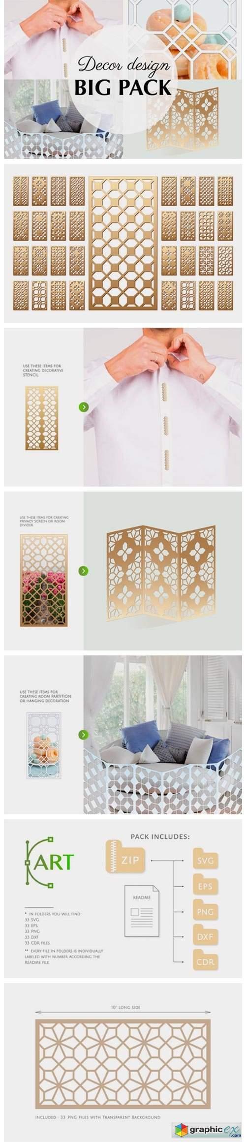 33 Templates Arab Geometric Pattern Grap