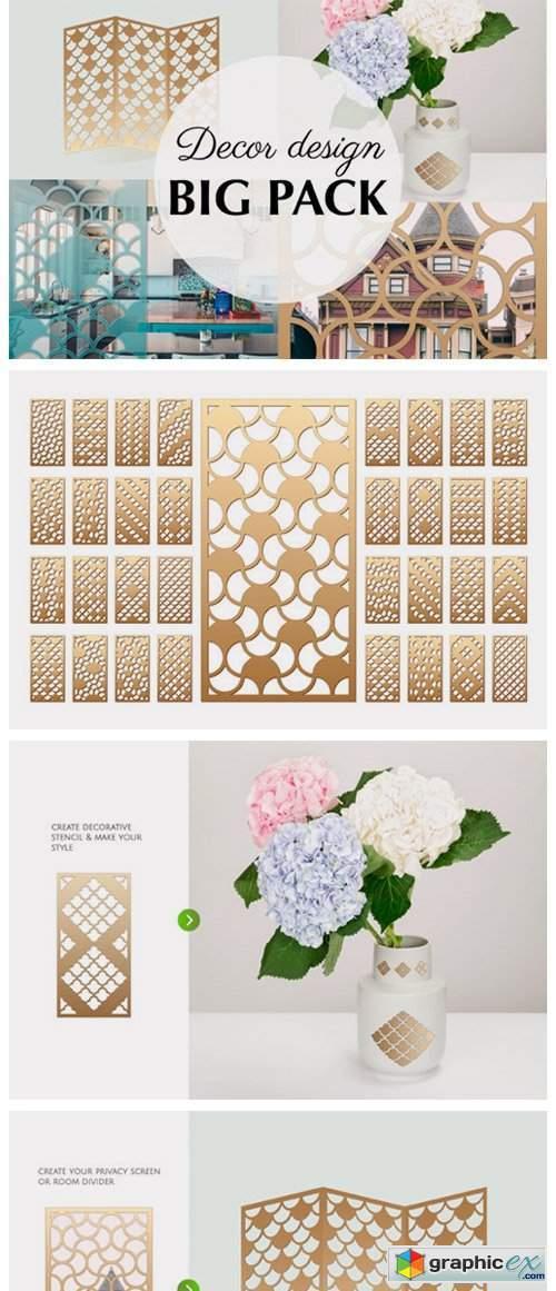 33 Templates Arab Geometric Pattern
