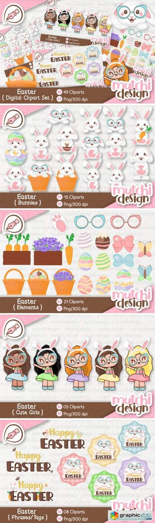 Easter Complete Cute Kit