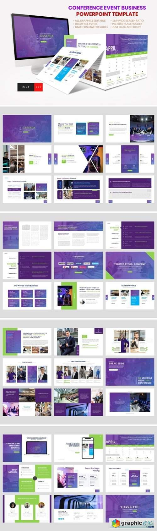 Conference - Event Seminar PowerPoint