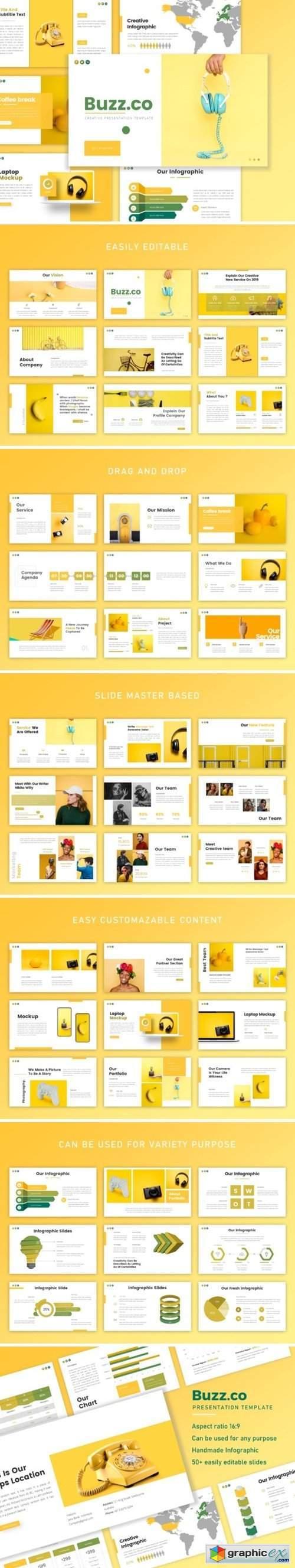 Buzz - Creative Business Presentation