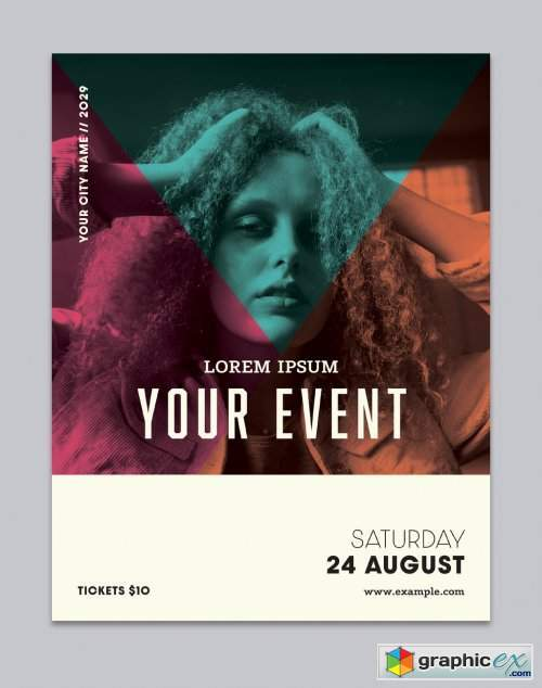 Event Poster Layout