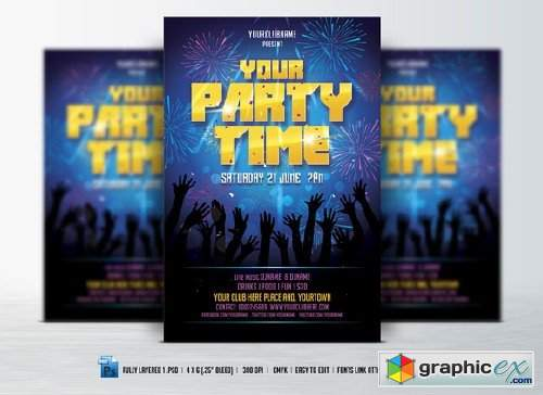 Party Time Flyer 507221