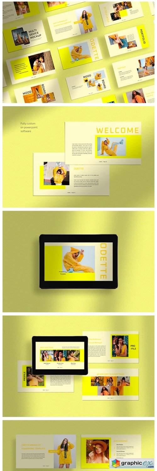 Odette - Presentation Template