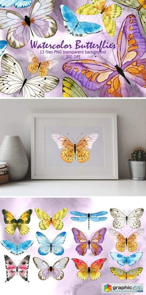 Watercolor Butterfly 3731550