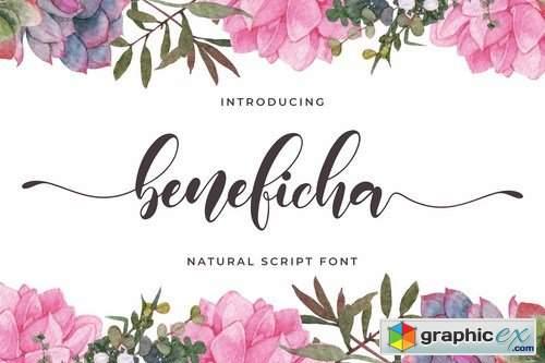 Beneficha - Natural Script